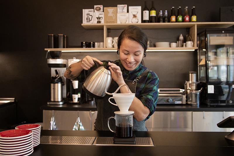 Naša nová kaviareň